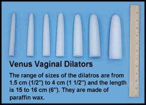 Venus Vaginal Inserts (Vaginismus)