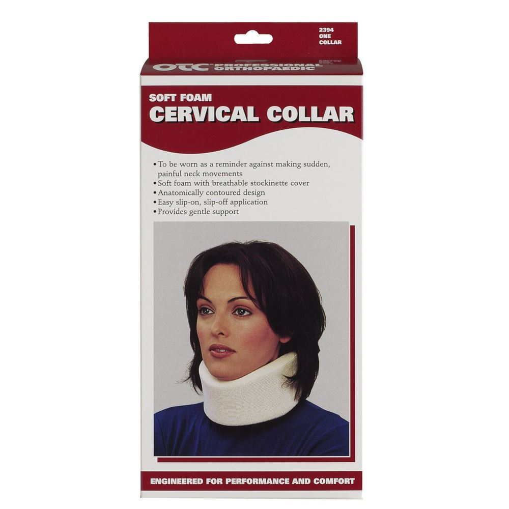 "Cervical Collar 4"" (Black)"