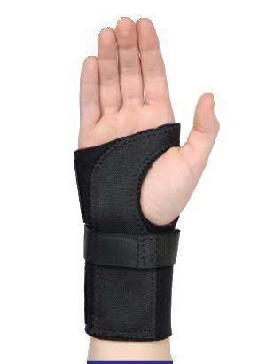 Contoured Wrist Brace: Large