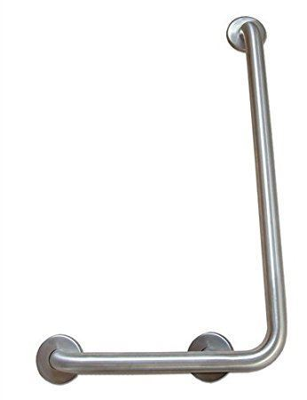 "L-Shaped 16x24"" Right Angle Grab Bar"