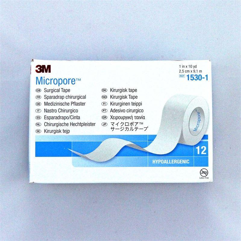 """Micropore 3M Paper Tape 1"""" (12)"""