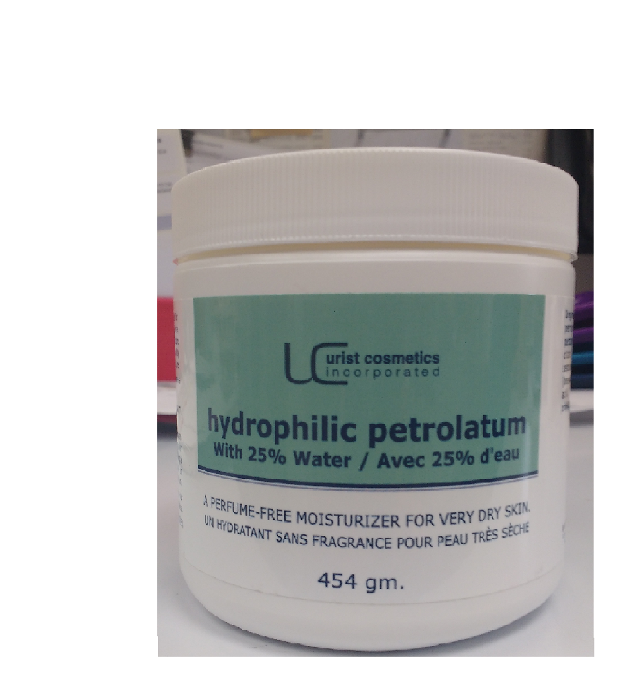 Hydrophilic Petrolatum with 25% Water 454g  Cream